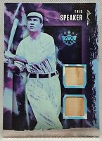 2020 TRIS SPEAKER 💎DIAMOND 👑 KINGS DUAL BAT CARD BOSTON RED SOX CLEVELAND ♨