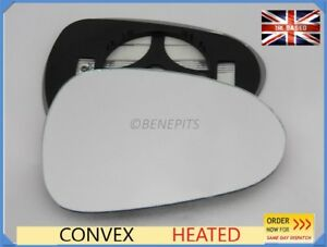 For Seat Ibiza 2012-2017 Wing Mirror Glass Convex Heated Right Side /1050