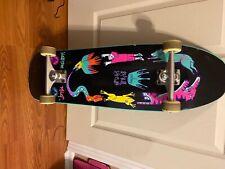 Cruiser Skateboard Pro Complete - Black size 9