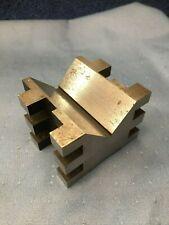 Brown and Sharpe 599-750-2 V Block, Hardened Steel 750B in Good Shape