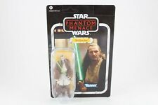 """Star Wars Vintage Collection VC75 Qui-Gon Jinn 4"""" MOSC new action figure"""