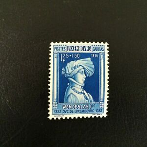 Luxenburg stamps 1936 Chidren Help the High Value of the set  MI 301 Nice offer