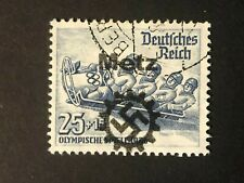 Germany WWII propaganda overprint  (METZ)  25+15 Rpf.  USED #621