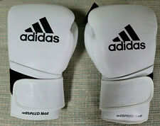 Adidas Adispeed 501 Boxing Gloves - 16oz White