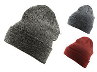Hawkins Adults Unisex One Size Stretchy Marl Winter Ski Beanie Hat Cap Headwear