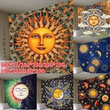 Sun Face Tapestry Psychedelic Tapestries Boho Wall Hanging Bedroom Blankets Deco
