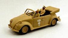 Volkswagen VW Action Figurerica Korps 2 Figures Rommel + Driver 1:43 RIO4376P