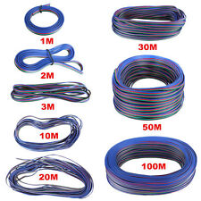 2-Pin & 4-Pin Extension Cable/Wire For 3528 5050 Single / RGB  LED Light Strips