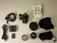 Nikon COOLPIX 5700 5.0MP Digital Camera - Black with accessories.