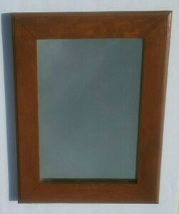 Modern Wooden Framed Mirror Wall  / Hanging Classic Style Solid Wood / Oak?
