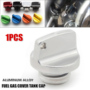 Universal Modified Motorcycle Fuel Gas Cover Engine Oil Tank Cap Multicolor CNC