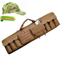 "Gun Bag 52"" Padded Rifle Tactical Carrying Case Hunting Bag Military Style Bags"