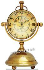 Nautical Table Clock Brass Antique RMS TITANIC Ship Office/Desk Collectible