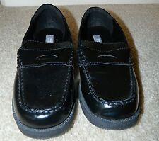 KENNETH COLE REACTION Black Slip On Penny Loafers, 6M (Teen Boy/Men) ~ NWOB