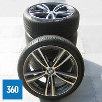 """GENUINE BMW 3 4 SERIES 19"""" 442 M SPORT ORBIT GREY DELIVERY MILEAGE WHEELS SET"""