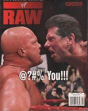 WWF Raw Magazine May 1999 Vince McMahon EX 121115DBE