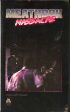Meathook Massacre VHS Manor Video Dustin Ferguson uncut slasher SOV