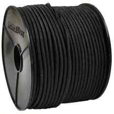 ø 6mm PE monoflex Expanderseil 20m schwarz Gummiseil Seil für Anhänger Plane PKW