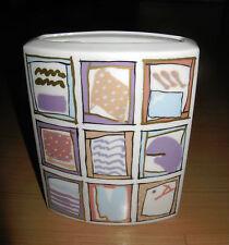 Rosenthal Studio Linie Line Abstract Art Glazed Vase Dorothy Hafner Modernist