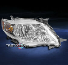 FOR 2009-2010 TOYOTA COROLLA CE LE XLE HEADLIGHT HEADLAMP CHROME PASSENGER RIGHT