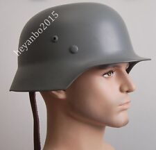 WWII German Military Elite M35 Steel Helmet Tactical M35 Helmet Helmet Grey