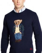 Polo Ralph Lauren Bear Sweater Teddy Bear Cable Knit Limited Edition Big & Tall