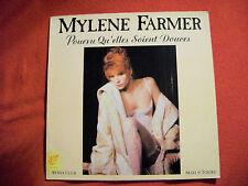 SUPERBE MAXI 45t MYLENE FARMER POURVU QU'ELLES SOIENT DOUCES 1988