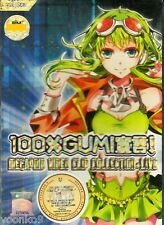 100% Gumi! Megapoid Video Clip Collection + Live DVD ALL Region Box Set