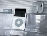 NEW! Apple iPod Classic 5.5th Generation White / Silver 60GB WolfsonDAC WARRANTY