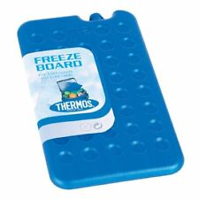 2 x Thermos Freeze Board Ice Pack Block 400g For Cool Bag Chill Box Cooler