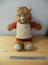 Teddy Ruxpin Vintage Toy Bear Doll Player 1980 Tested Plays Wow World of Wonder