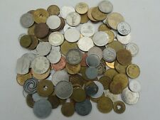 Large Collection of 125 Tokens Mixed GB & World Issues, 20thC, Quick Sale