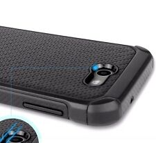 Samsung Galaxy J3 Emerge / Express Prime 2 -HYBRID ARMOR CASE BLACK CARBON FIBER