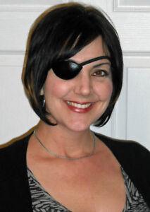 Streamline Leather Eye Patch Custom Made
