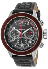 Invicta Men's 49mm 'S1 Rally' Quartz Chronograph SS and Leather Watch 23066