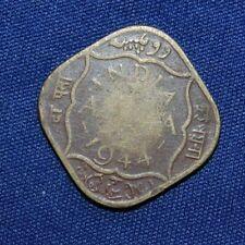 British India 1/2 Anna  1944 coin
