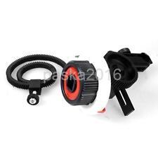 Follow Focus w/ Flexible Gear Ring Belt Quick Release for Canon Nikon Camera