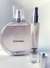 CHANEL CHANCE Eau Tendre Toilette EDT Perfume Glass Spray Travel SAMPLE ~ 10ml