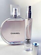 CHANEL CHANCE Eau Tendre Toilette EDT Perfume Glass Spray Travel SAMPLE ~ 10ml