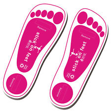 Economy 60Pairs(120feets) Pink Spray Tan Sticky Feet Tanning Pads Protectors