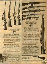 1964 PAPER AD Toy Rifles Cap Guns Marx Telescope Daisy Mattel Kadet Tommy Choppe
