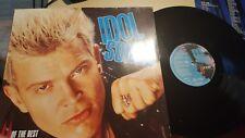 BILLY IDOL SONGS OF THE BEST 1986 CHRISALIS RECORDS LP 209118 VINYL 33 T