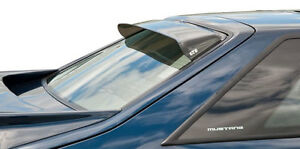 Fits 79-93 Mustang GTS Solarwing Acrylic Rear Window Deflector Spoiler NEW 51155