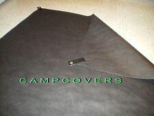 """Dupont Black Tyvek Sleeping Bag Bivy Liner - ground sheet 45X84"""" w/ grommet tabs"""