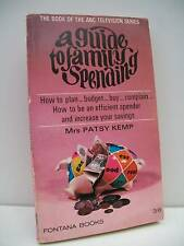 Book, A Guide To Family Spending by Mrs Patsy Kemp 1967