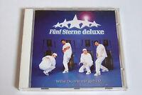 FÜNF STERNE DELUXE - WILLST DU MIT MIR GEH´N? MAXI CD 1998 NEUWERTIG
