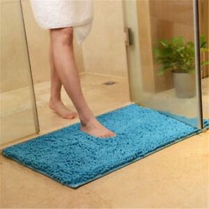 15.7*23.6in Soft Chenille Bathroom Carpet Mat Bedroom Floor Mat Rug Doormat Rug