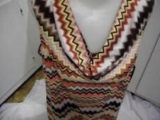 WOMENS COWL NECK  TUNIC TOP BLOUSE SZ PXL MULTI NWTS MSRP $49.00 Clothing