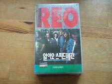 REO SPEEDWAGON A VIDEO ANTHOLOGY SONY KOREA VHS VIDEO TAPE 1992 SEALED NTSC