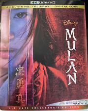 Mulan (4K Ultra HD + Blu-ray + Digital Code, 2020, Ultimate Collector's Edition)